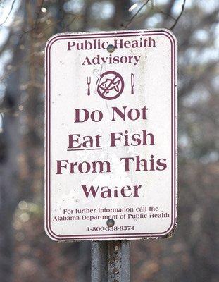 PCB Fishing Warning