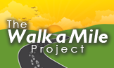 The Walk a Mile Project Logo