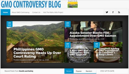 GMO Controversy Blog is Now… LIVE!